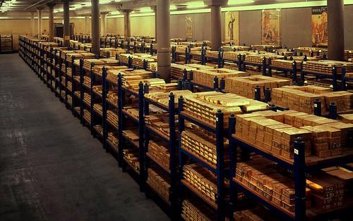 England's Gold Bullion