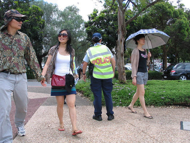 Police and Chinese New Year, Brisbane