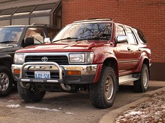 automobile, automotive exterior, toyota, pickup truck, sport utility vehicle, wheel, vehicle, compact sport utility vehicle, toyota 4runner, bumper, toyota land cruiser, land vehicle,