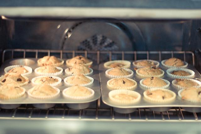 35:366, banana chocolate muffins