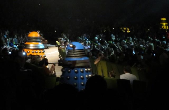 Daleks patrol