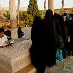 Gathering Around Hafez Tomb - Shiraz, Iran