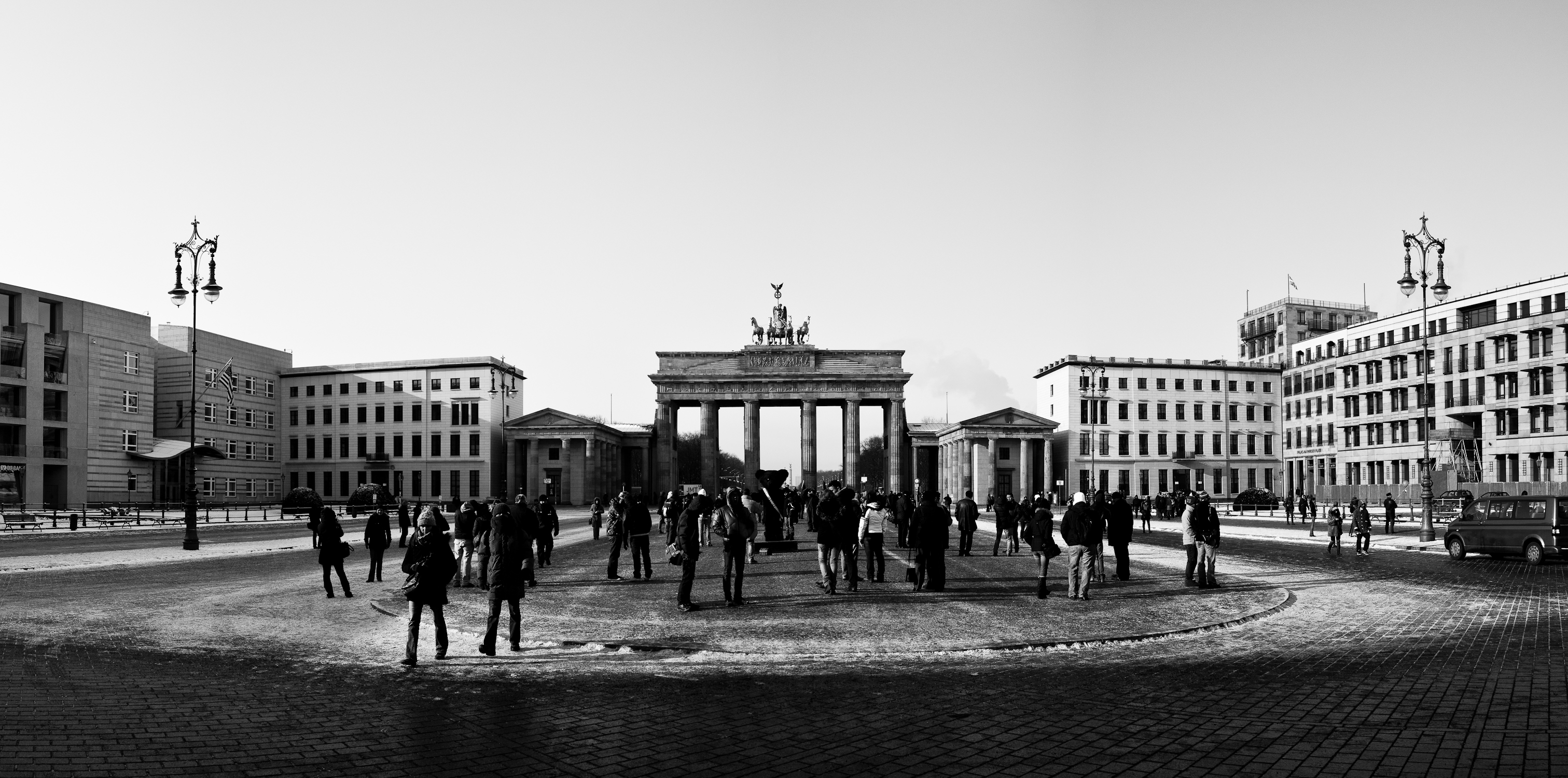 pariser platz and brandenburg gate it is said that. Black Bedroom Furniture Sets. Home Design Ideas