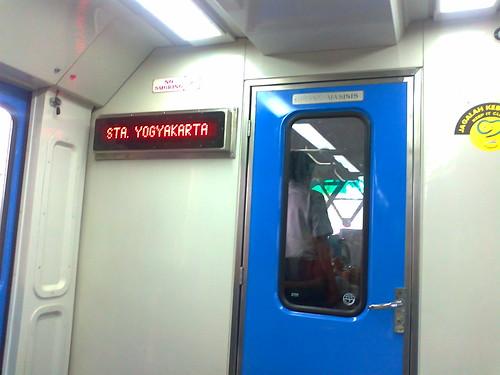 Papan Petunjuk Sta Yogyakarta