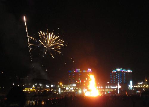 Deaborum festival fireworks