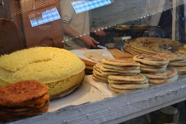 moroccan pancakes, fez