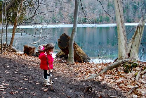 Lake in February