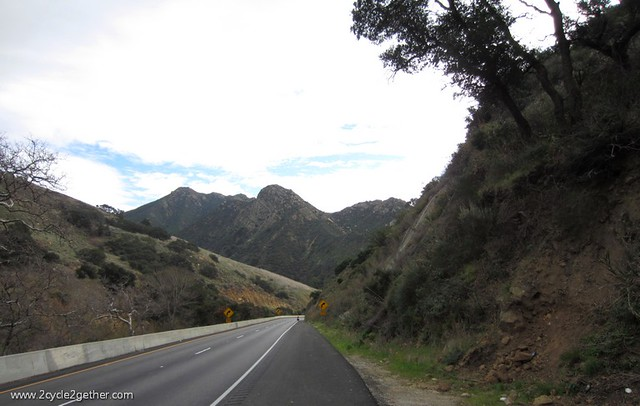 Heading toward Gaviota Park