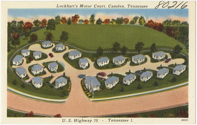 Lockhart 39 S Motor Court Camden Tennessee U S Highway 70