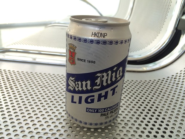 San Miguel Light beer - MNL