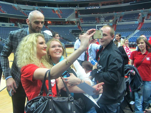 Marcin Gortat, Polish Heritage Night, washington wizards, truth about it, poland, adam mcginnis, selfie