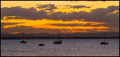 Deception Bay from Scarborough at Dusk-1=
