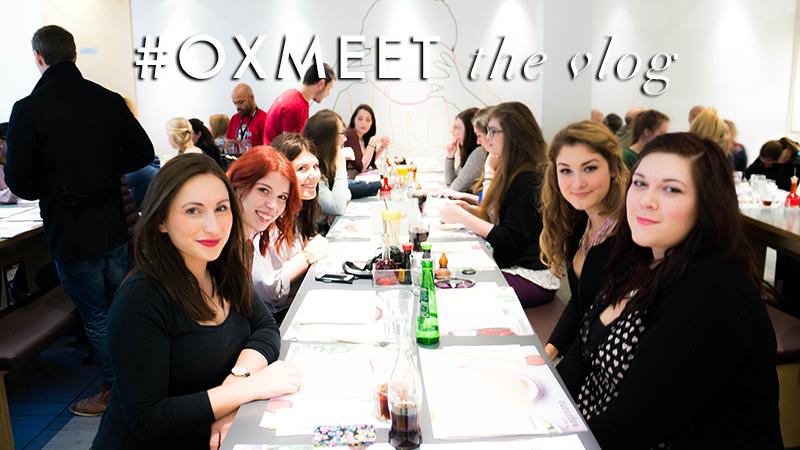 #OxMeet Vlog | www.latenightnonsense.com