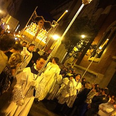#semanasanta #madrid procession leading the Paso