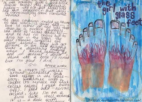 Embodiment Journal - Glass Feet