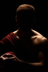 Buddhist Monk Portrait
