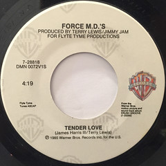 FORCE M.D.'S:TENDER LOVE(LABEL SIDE-A)