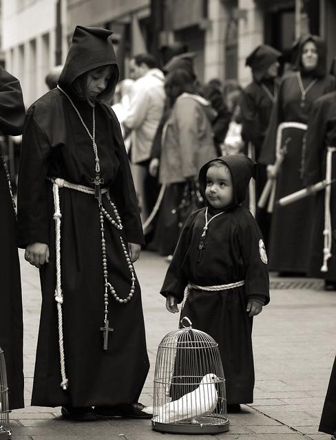 Crucifixion del Señor y San Francisco de Asis. Jueves Santo 2011. Zaragoza.