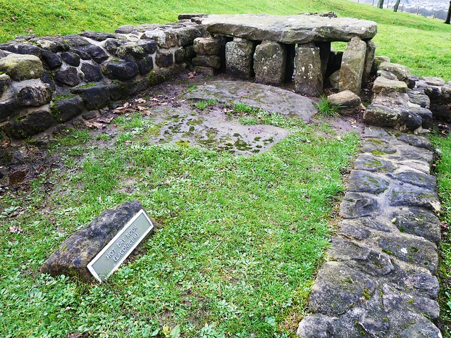 Bath House, Barr Hill Roman Fort