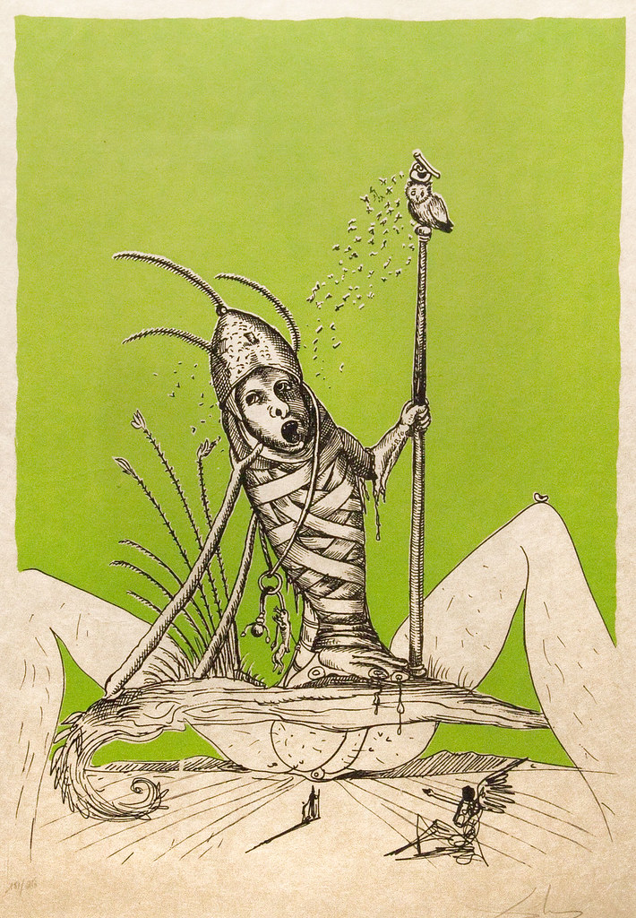 Salvador Dali - Pantagruel 9 (1974)