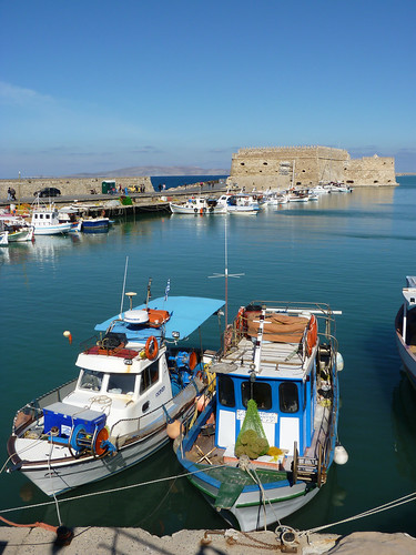old harbour heraklion