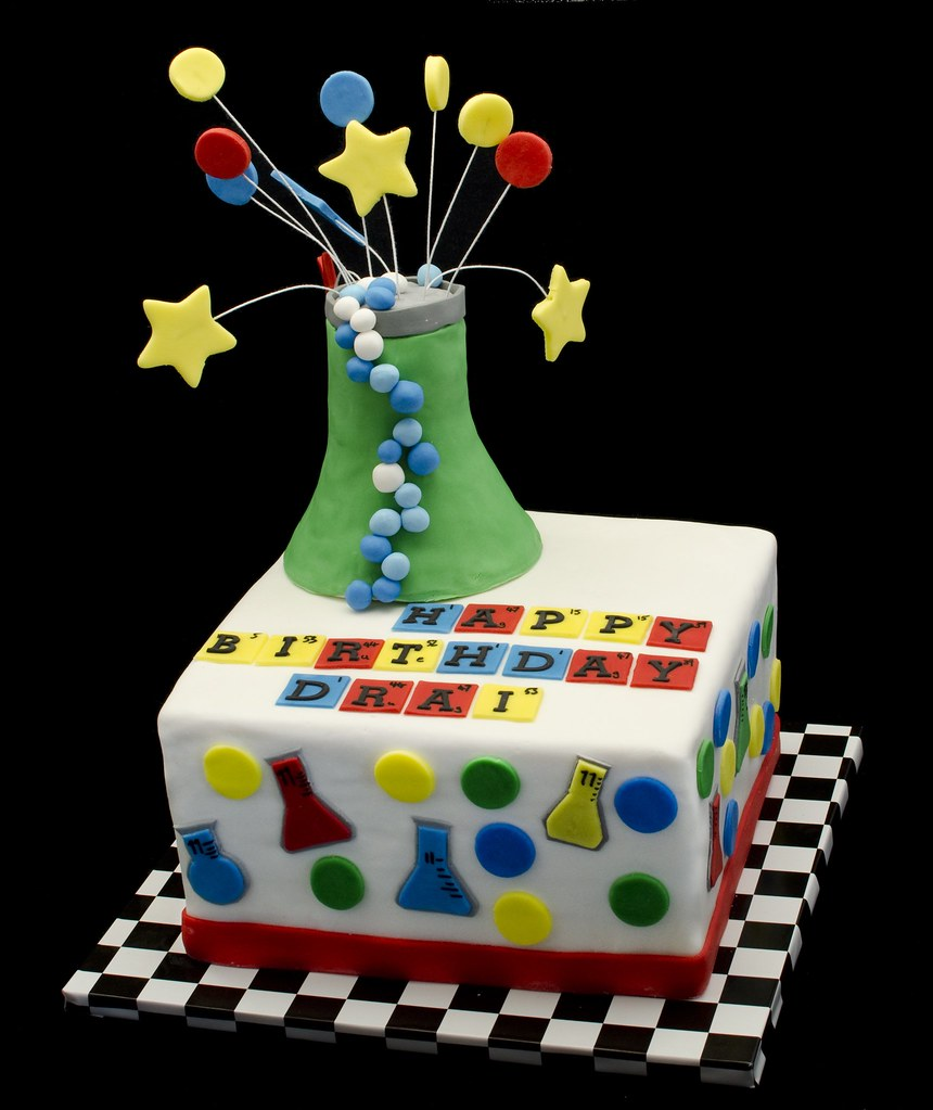 Science cake a photo on flickriver science cake gamestrikefo Choice Image