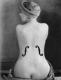 Le Violon d'Ingres (1924) de Man Ray