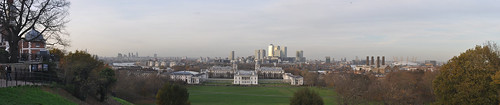 Panorama from Royal Observatory 25/11/11