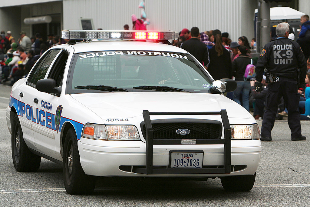 Police Car | Houston Holiday Parade, Thanksgiving Day ...