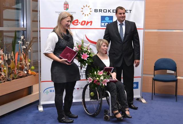 British Ambassador awards Hungarian para-athletes