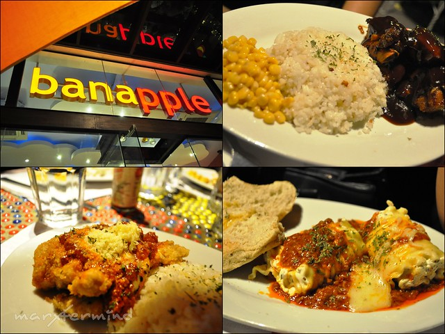 Banapple Entrees and Pasta