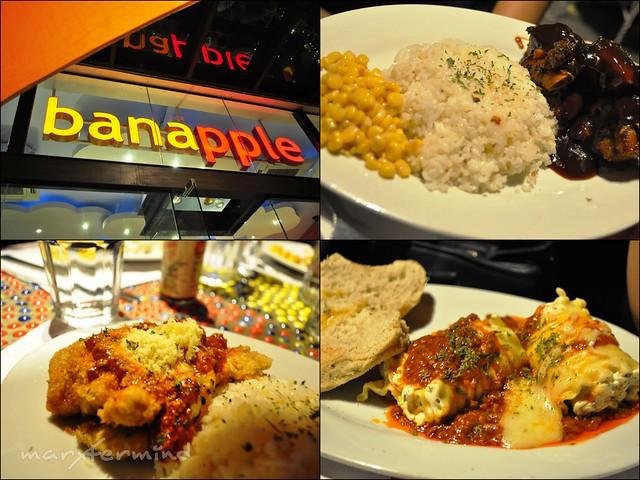 Banapple Entrees and Pasta