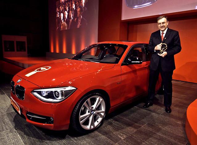 Норберт Рейтхофер принимает награду Golden Steering Wheel
