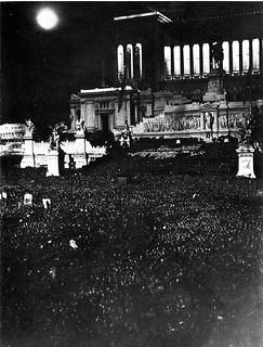 Celebración de la conquista de Etiopía / Abisinia (Roma, 1936)
