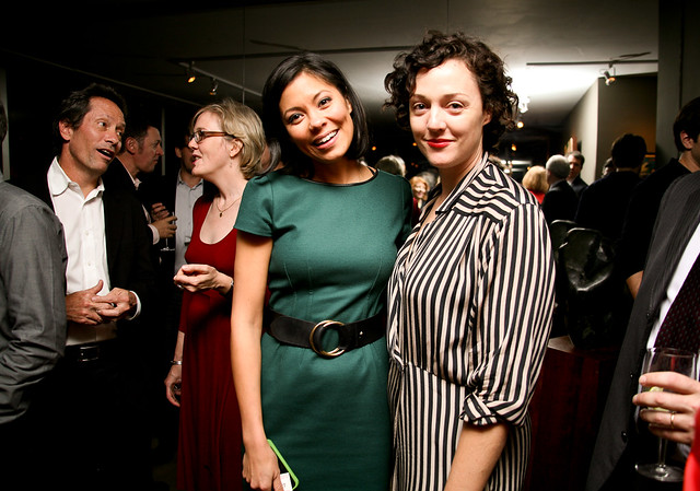 alex wagner msnbc and glynnis macnicol business insider
