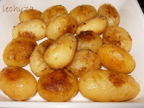 Ternera salsa nueces-pat.hechas