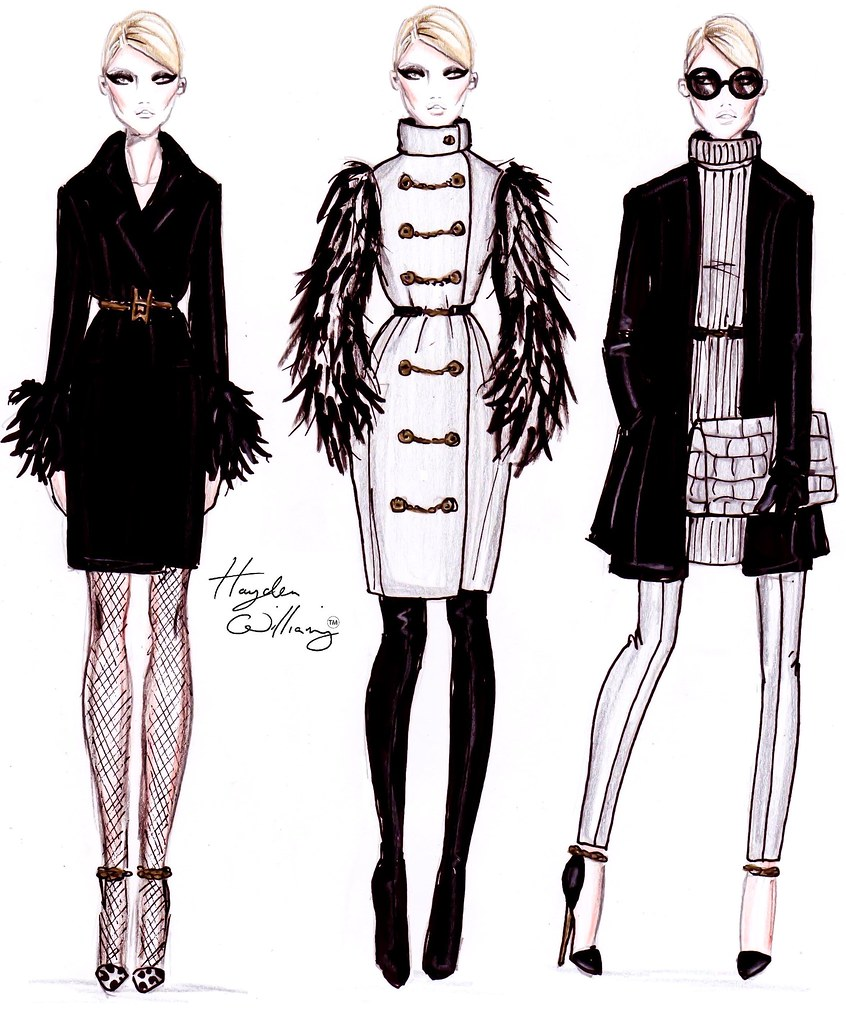 Hayden Williams Fashion Illustrations December 2011
