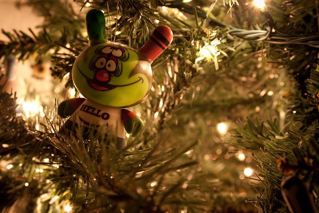 Christmas tree - dunny 2010 - Shelterbank