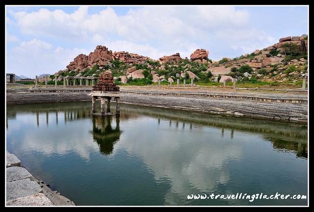 Hampi: Vittala Water Tank