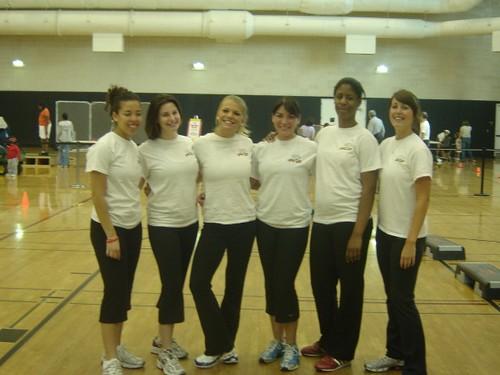 UMD fitness instructors