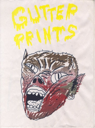 gutter prints cover by willlaren
