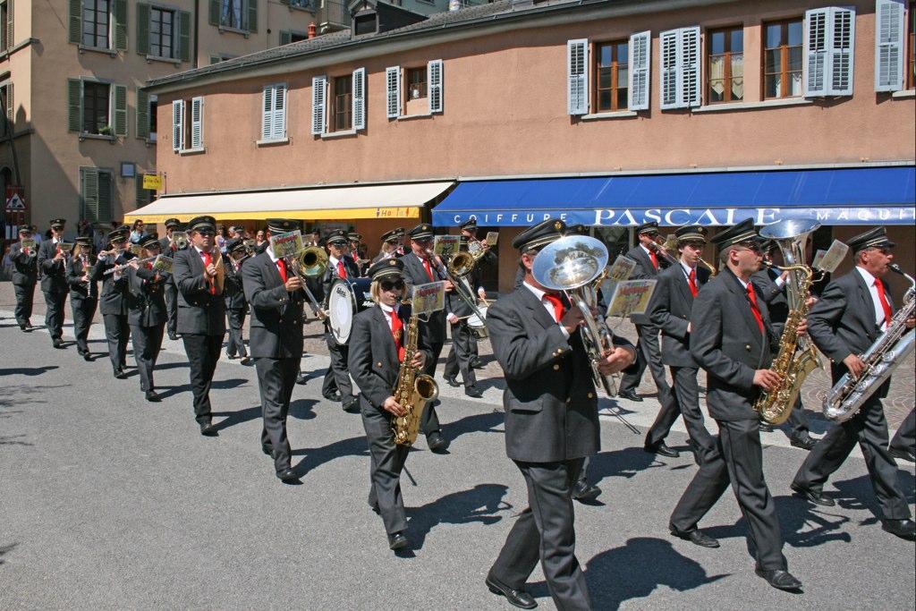 Journée des Harmonies Municipales Valaisannes