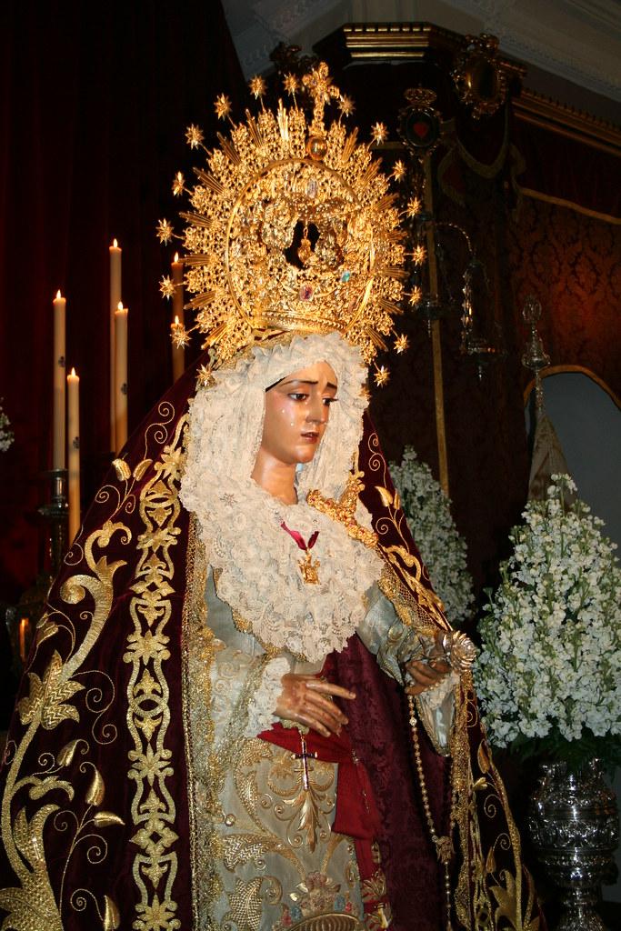 Besamanos Virgen de la Caridad en Su Soledad.2