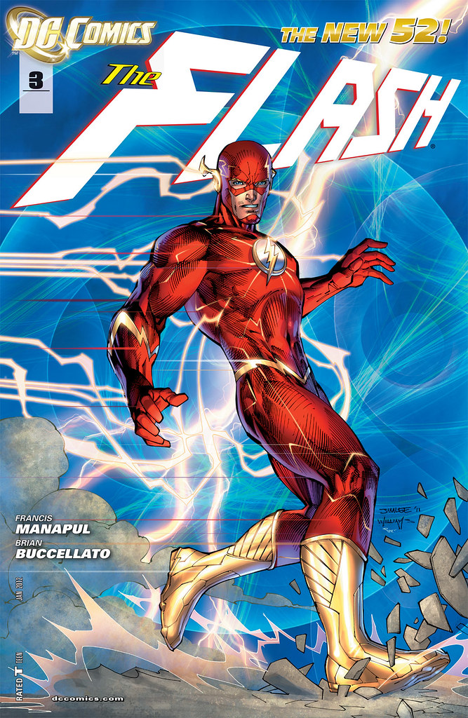 Flash 3 2012 Jim Lee variant cover