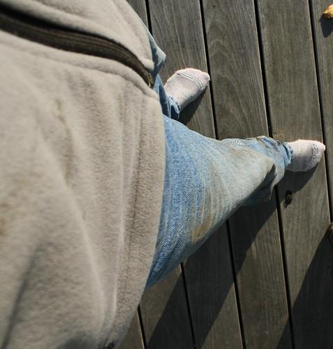 Exhibit A: Muddy Pants & Jacket