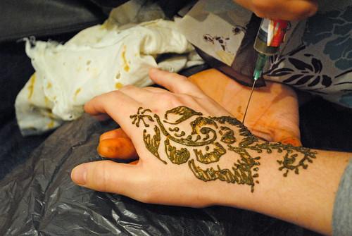 Henna @ l-عid l-kbir