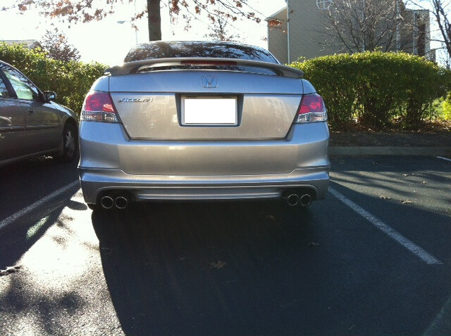 Bought The 20112012 Deck Lip Spoiler It Will Be Here This Afternoon I Repost After Installing New: 2012 Accord Exhaust At Woreks.co