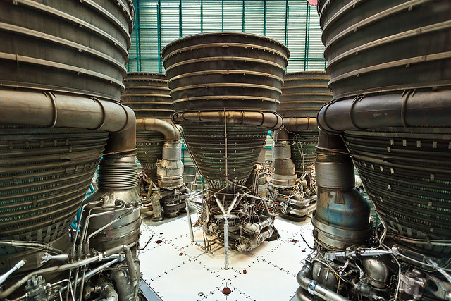 Photo:Business End of the Saturn V By:Kevin Baird