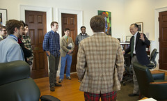 The Dartmouth Aires Visit President Kim