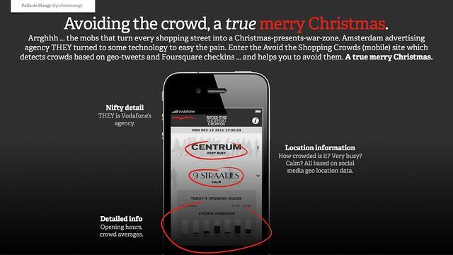 Avoiding the crowd, a true merry Christmas.
